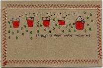 Bloody Mary Morning Postcard