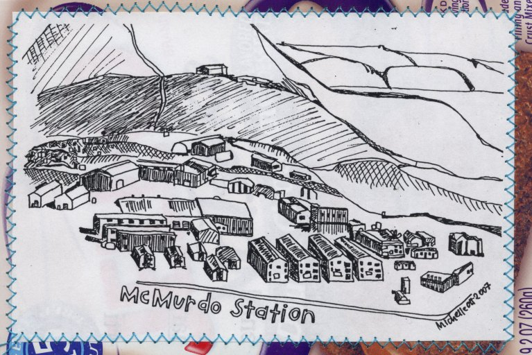 McMurdo Station Postcard