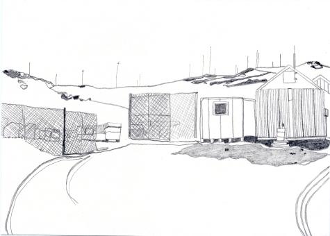 Haz Waste Yard