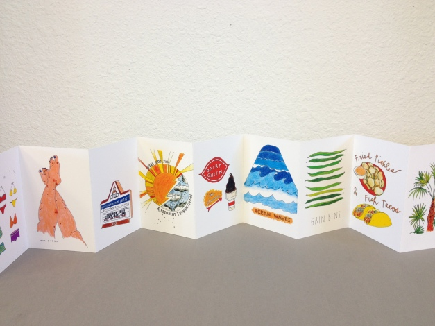 Artists Book: What's In Florida