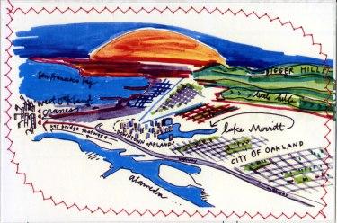 Oakland Postcard