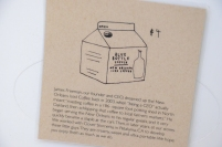 New Orleans Iced Coffee carton for Blue Bottle Coffee