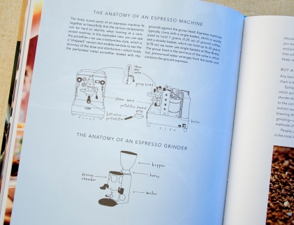 My favorite illustration for Blue Bottle Craft of Coffee , Published by Ten Speed Press