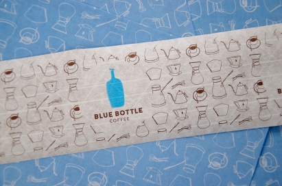 Illustrations used for Blue Bottle Coffee packaging