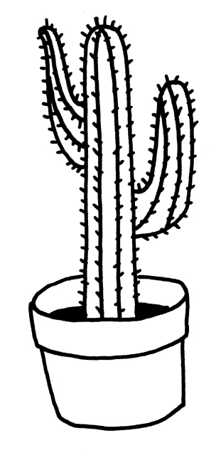Cactus for Ezra & Edie