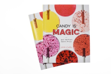 Candy Is Magic (the book) by Jami Curl, Illustrated by me. Photo by Maggie Kirkland